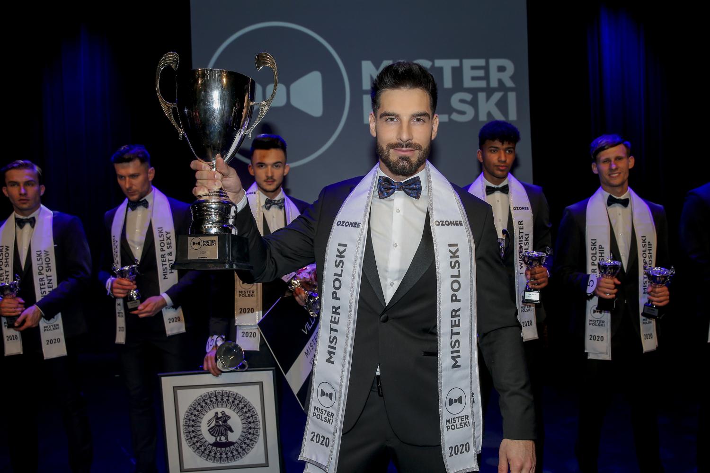 Mister Polski 2020 Jakub Kowalewski