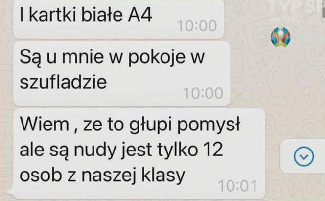 Zdjęcie (1) Ups… Cała Polska zobaczyła, co wypisuje syn Mateusza Borka. Prywatne SMS-y juniora omyłkowo wylądowały na ekranie