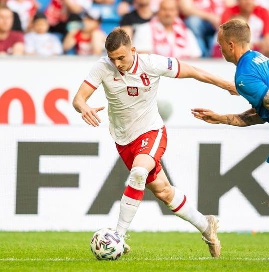 Kacper Kozłowski objawieniem Euro 2020