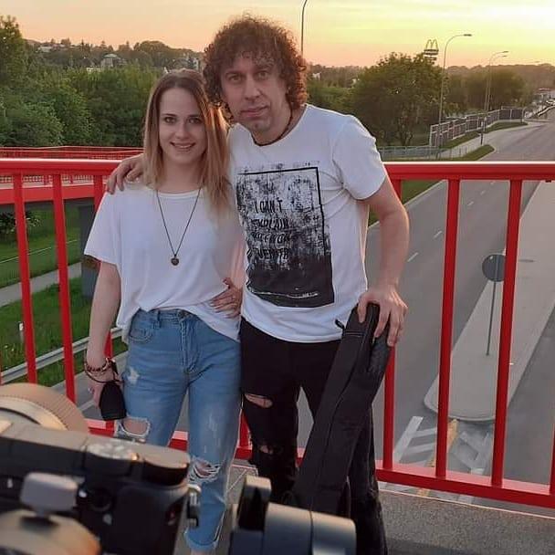 Magda Welc i Mariusz Ostański
