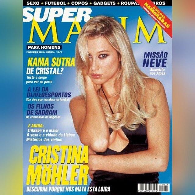 Cristina Mohler na okładce magazynu Maxim