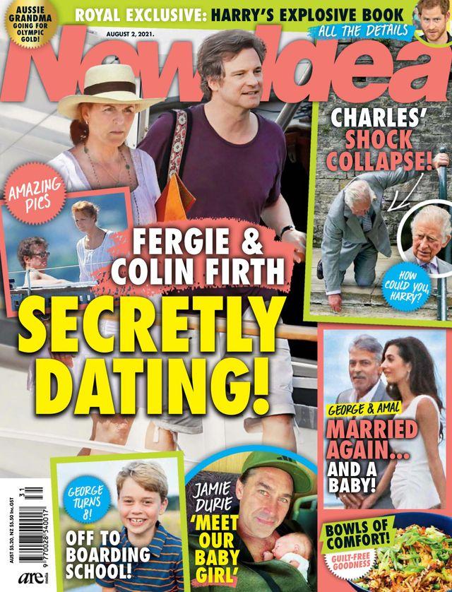 Księżna Fergie i Colin Firth mają romans