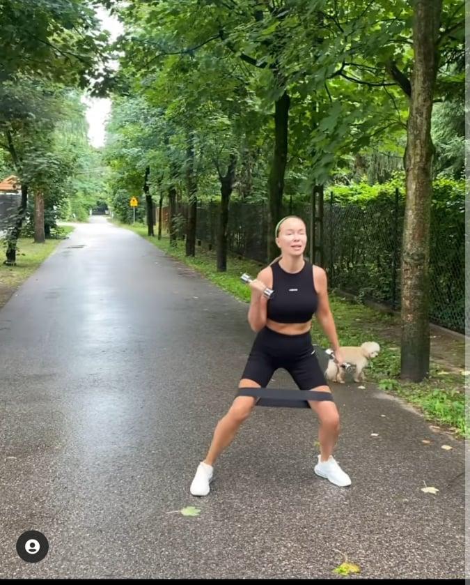 Joanna Przetakiewicz - trening