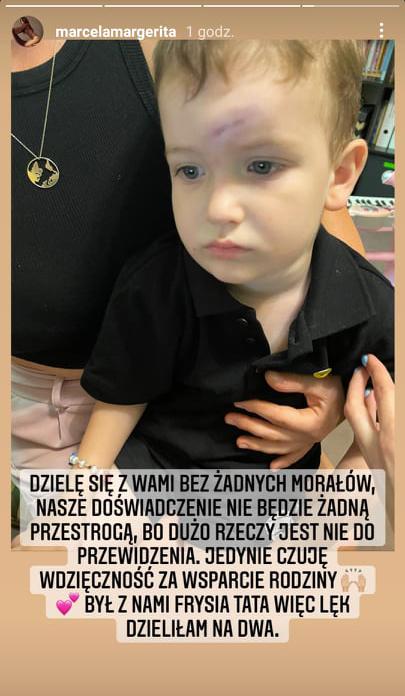 Synek Koterskiego i Leszczak miał wypadek