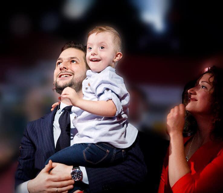 Patryk Jaki z synkiem