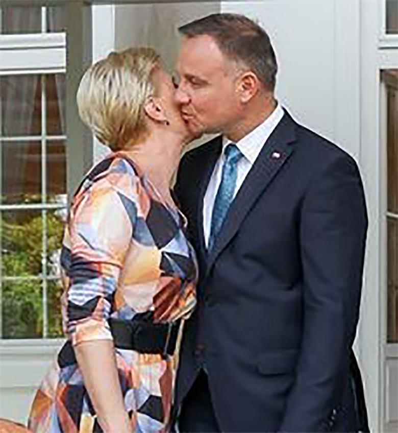 Andrzej Duda i Agata Duda publicznie nie szczędzą sobie czułości