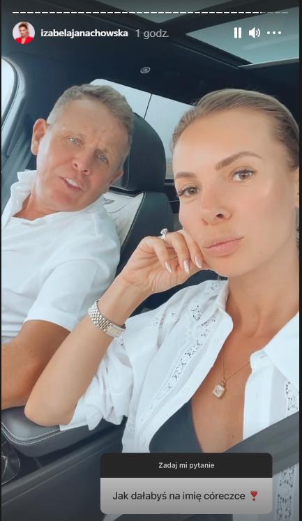 Izabela Janachowska zdradziła imię dla córki