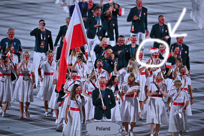 Tokio 2020 - Polacy na ceremonii otwarcia