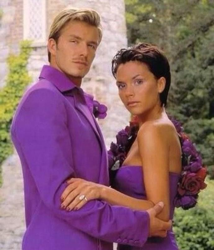 David Beckham i Victoria Beckham świętują 22. rocznicę ślubu