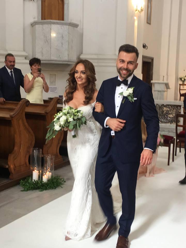 Sylwia Nowak w dniu ślubuu