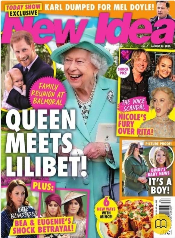 Królowa Elżbieta II spotka Lilibet