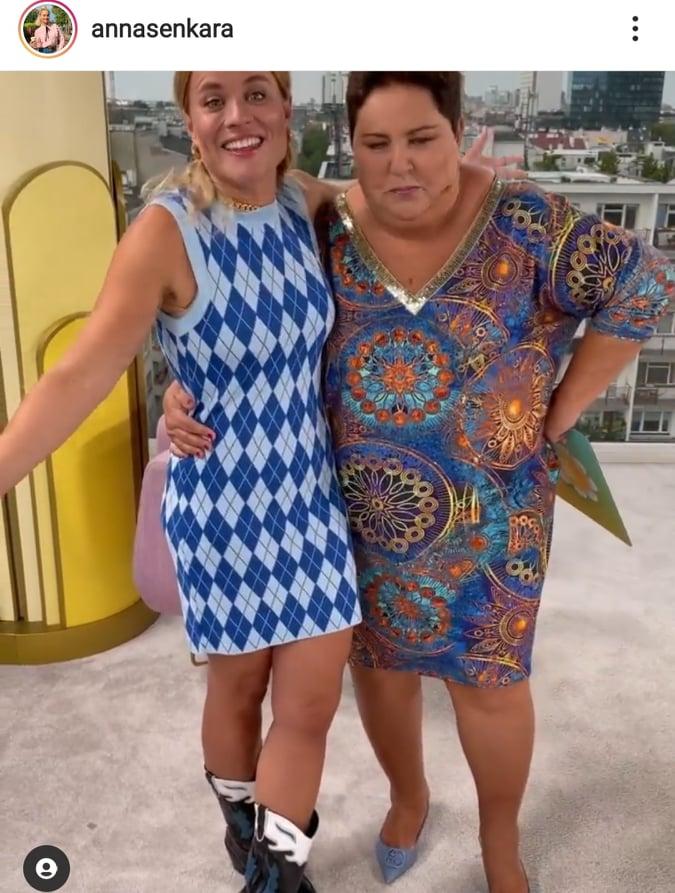Dorota Wellman i Anna Senkara