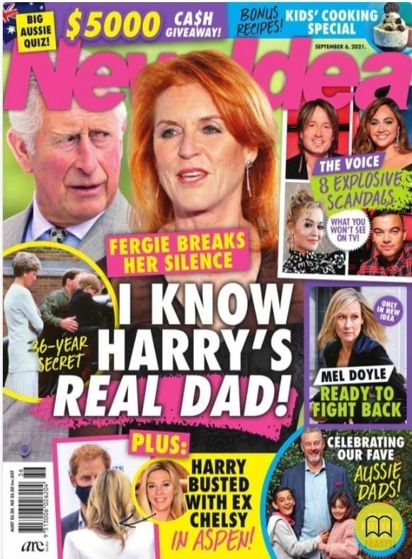 Kim jest biologiczny ojciec Harry'ego?