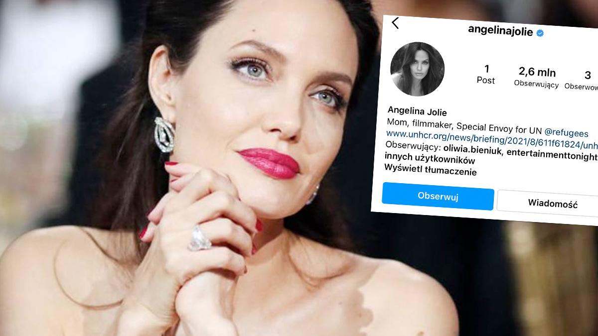 Angelina Jolie ma Instagram