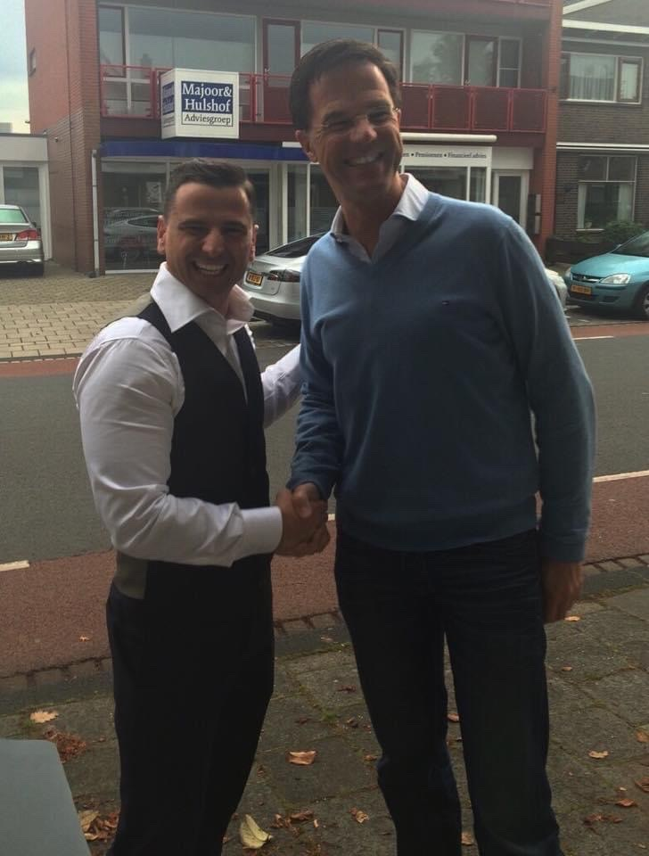 Kris Florek i premier Holandii