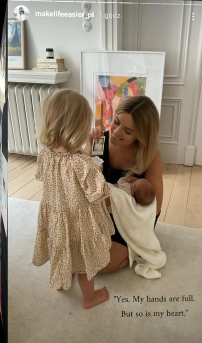 Kasia Tusk pokazała córki
