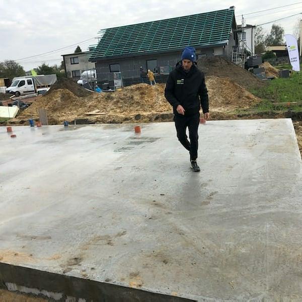 Piotr Żyła i jego nowy dom