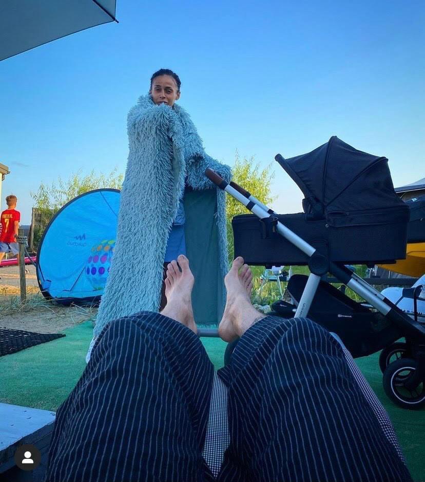 Aleksandra Szwed na wakacjach