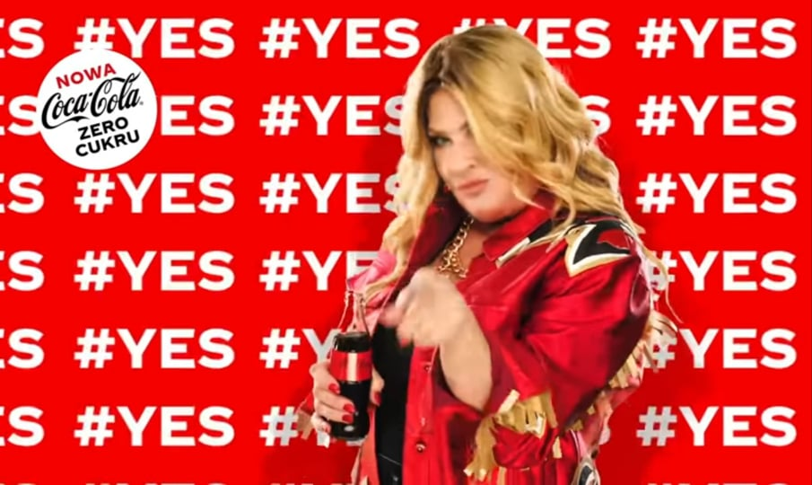 Beata Kozidrak - reklama Coca-Cola