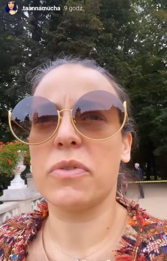 Anna Mucha - drogi kurs taksówką