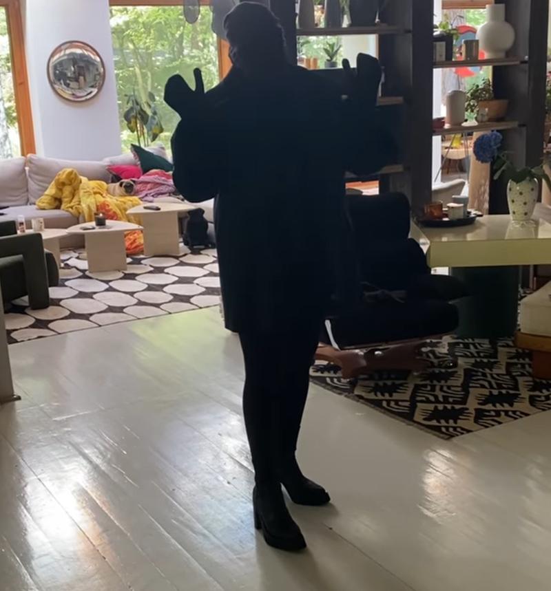 Kasia Nosowska wystylizowana jak Kim Kardashian na Met Gali 2021