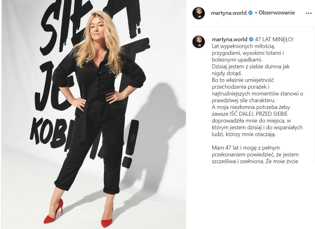 Martyna Wojciechowska rozlicza się z przeszłością