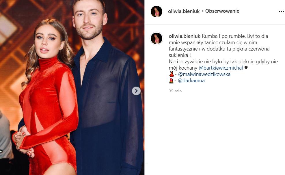 Oliwia Bieniuk i Michał Bartkiewicz