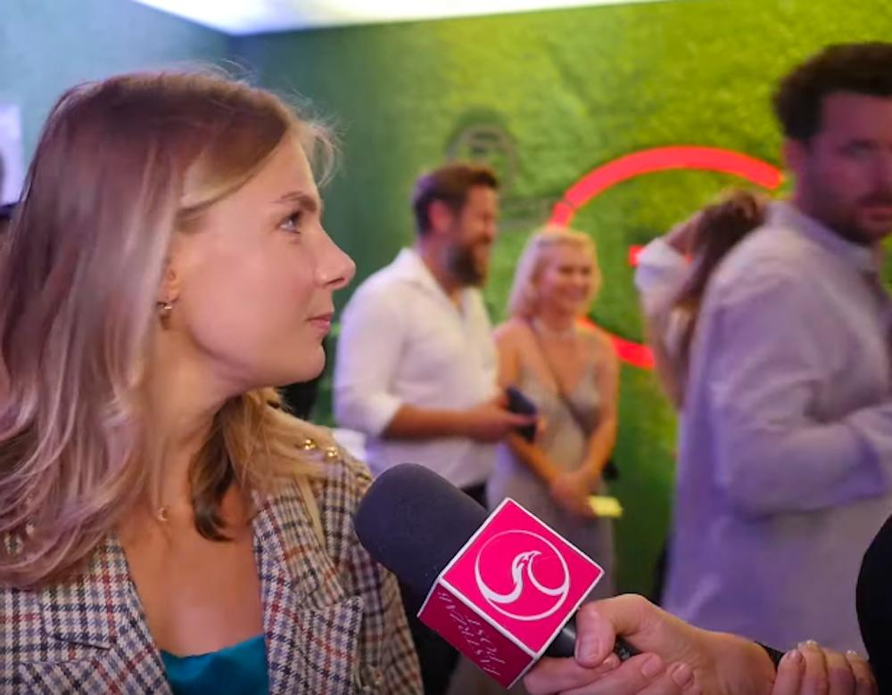 Marta Wierzbicka z partnerem