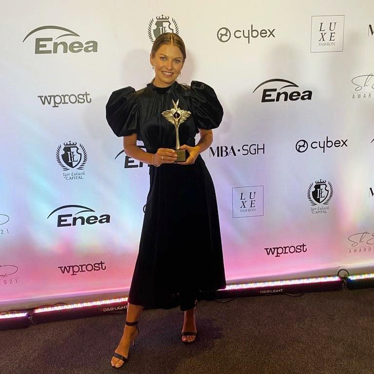 Anna Lewandowska otrzymała wyróżnienie od tygodnika Wprost