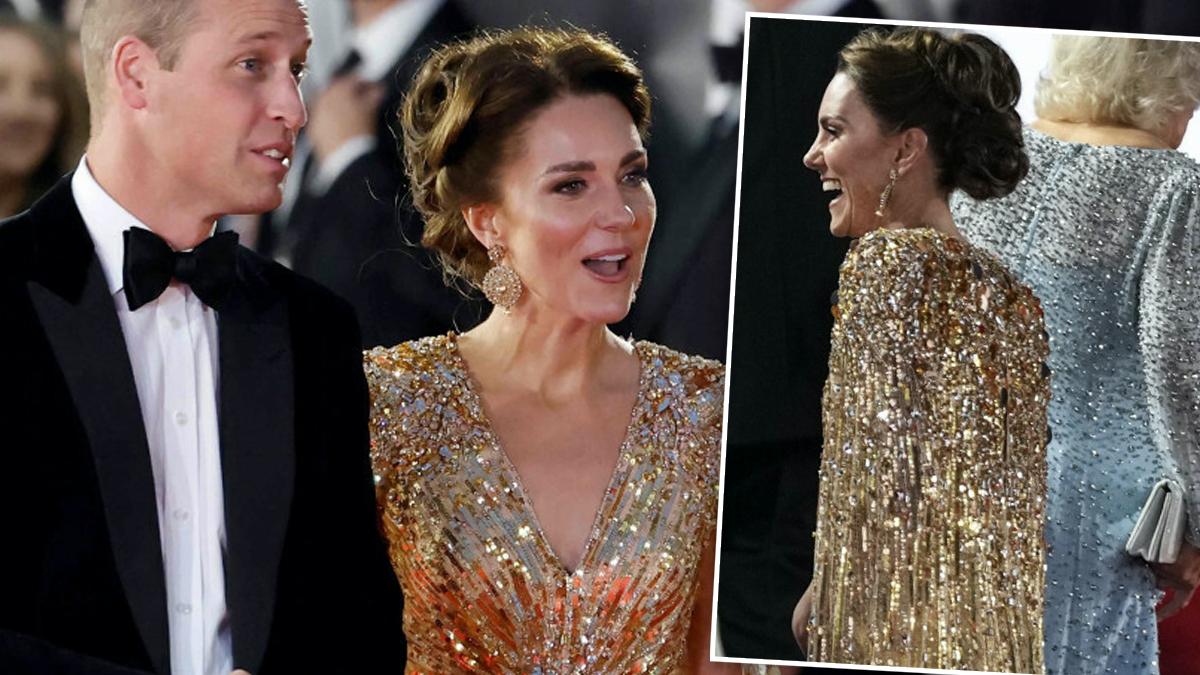 Księżna Kate na premierze No time to die
