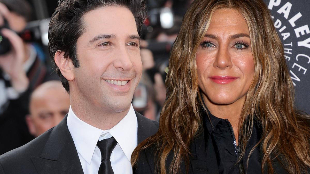 Savid Schwimmer, Jennifer Aniston