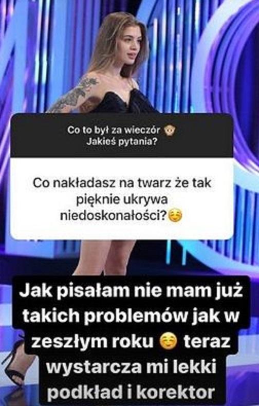 Weronika Zoń pokazała trądzik