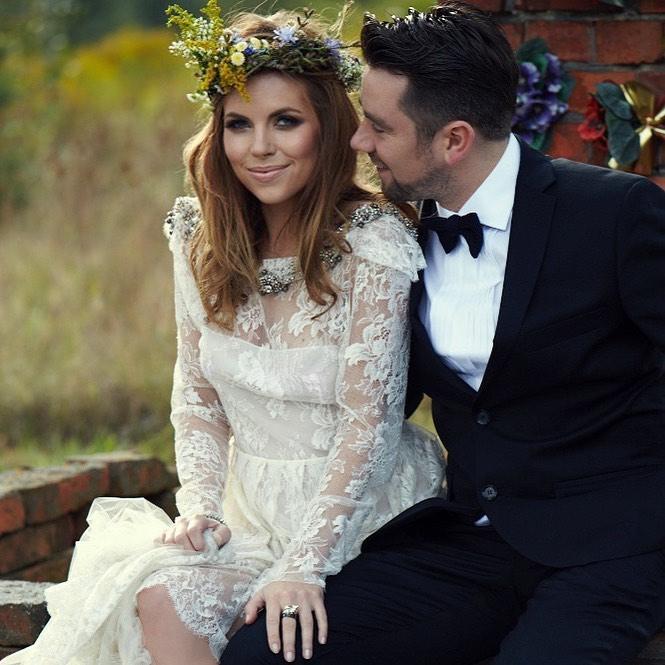 Aleksandra Kwaśniewska i Kuba Badach świętują 9. rocznicę ślubu