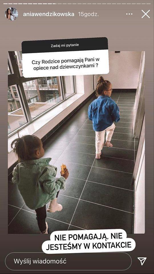 Anna Wendzikowska nie utrzymuje kontaktu z rodzicami