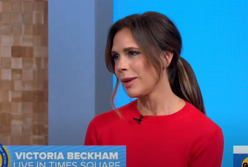 Victoria Beckham - screen z Good Morning America