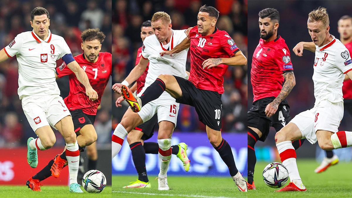 Mecz Polska - Albania, fot. laczynaspilka